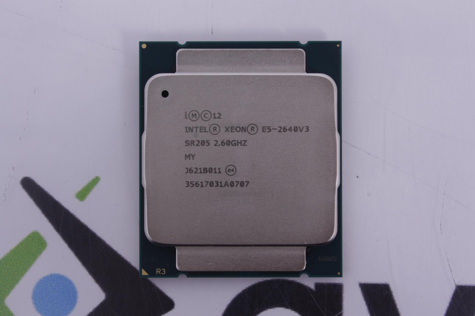 Intel Xeon SR205 E5-2640v3 2.6GHz 20M 8GT//s 8-Core CPU Processor