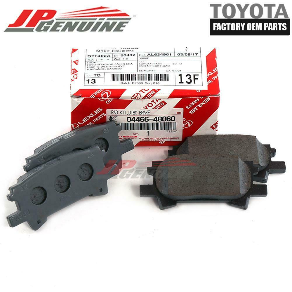 GENUINE TOYOTA OEM 2009-2012 USA Built Toyota Highlander Front Brake Pad Kit
