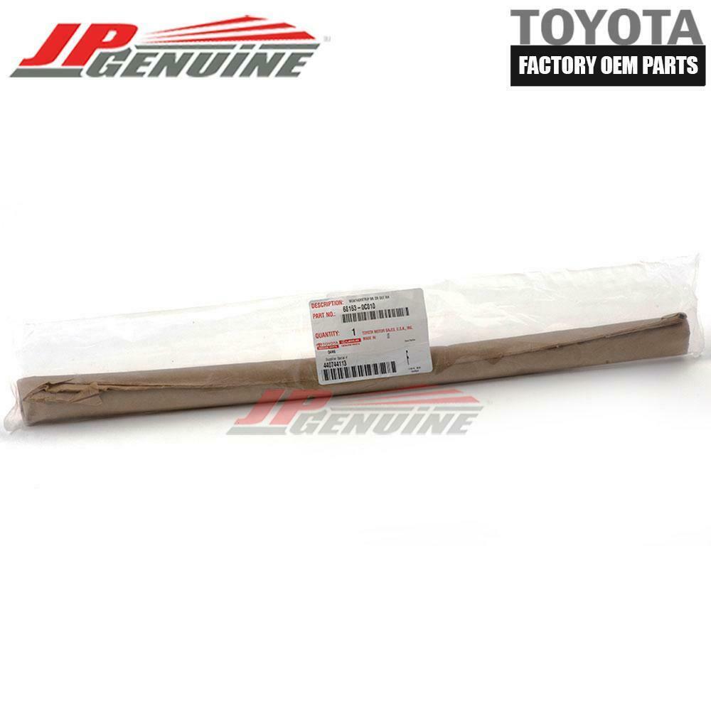 Genuine Toyota Exterior Weatherstrip 68163-0C010