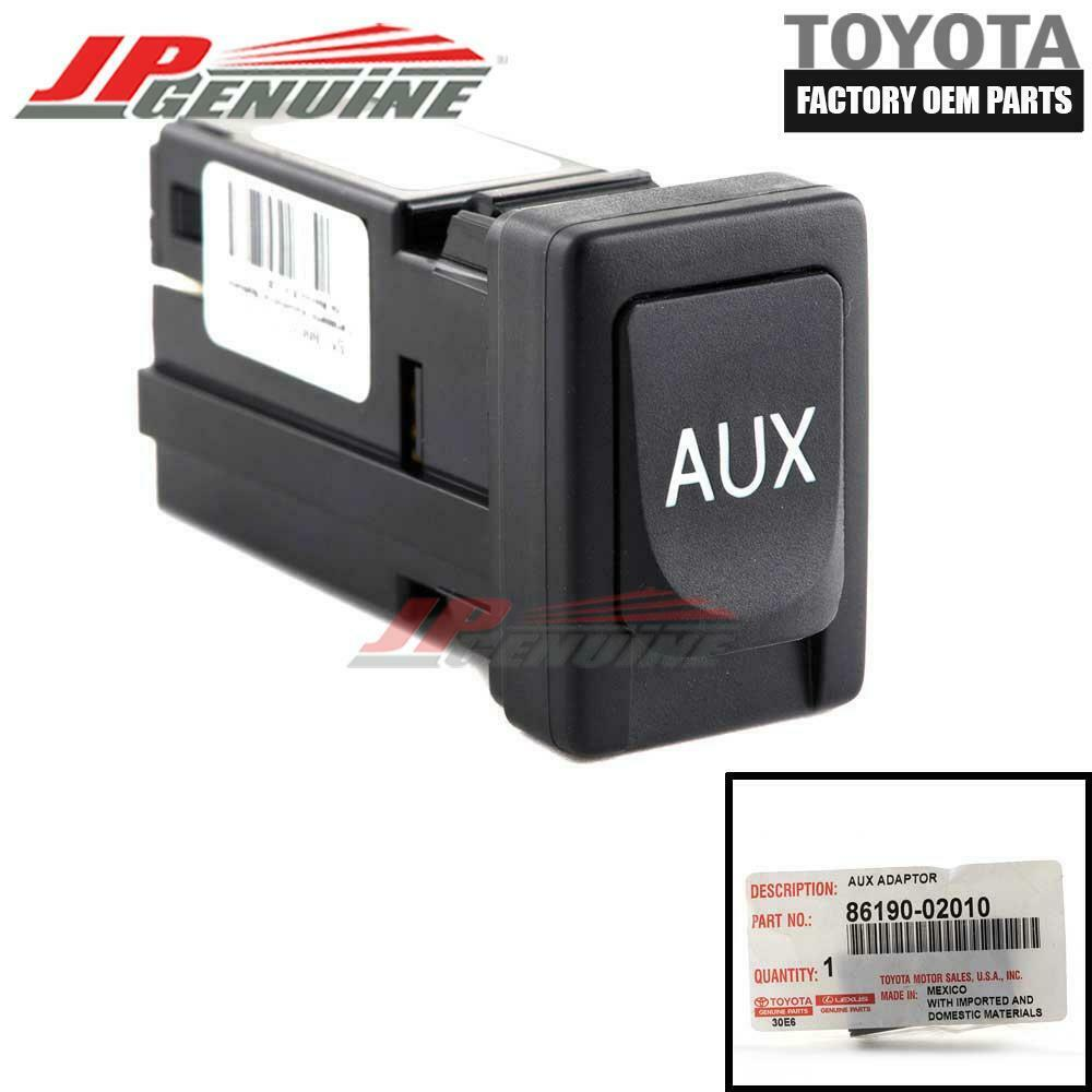 86190-0R010 NEW OEM TOYOTA COROLLA SIENNA AUX USB ADAPTOR FACTORY REPLACEMENT