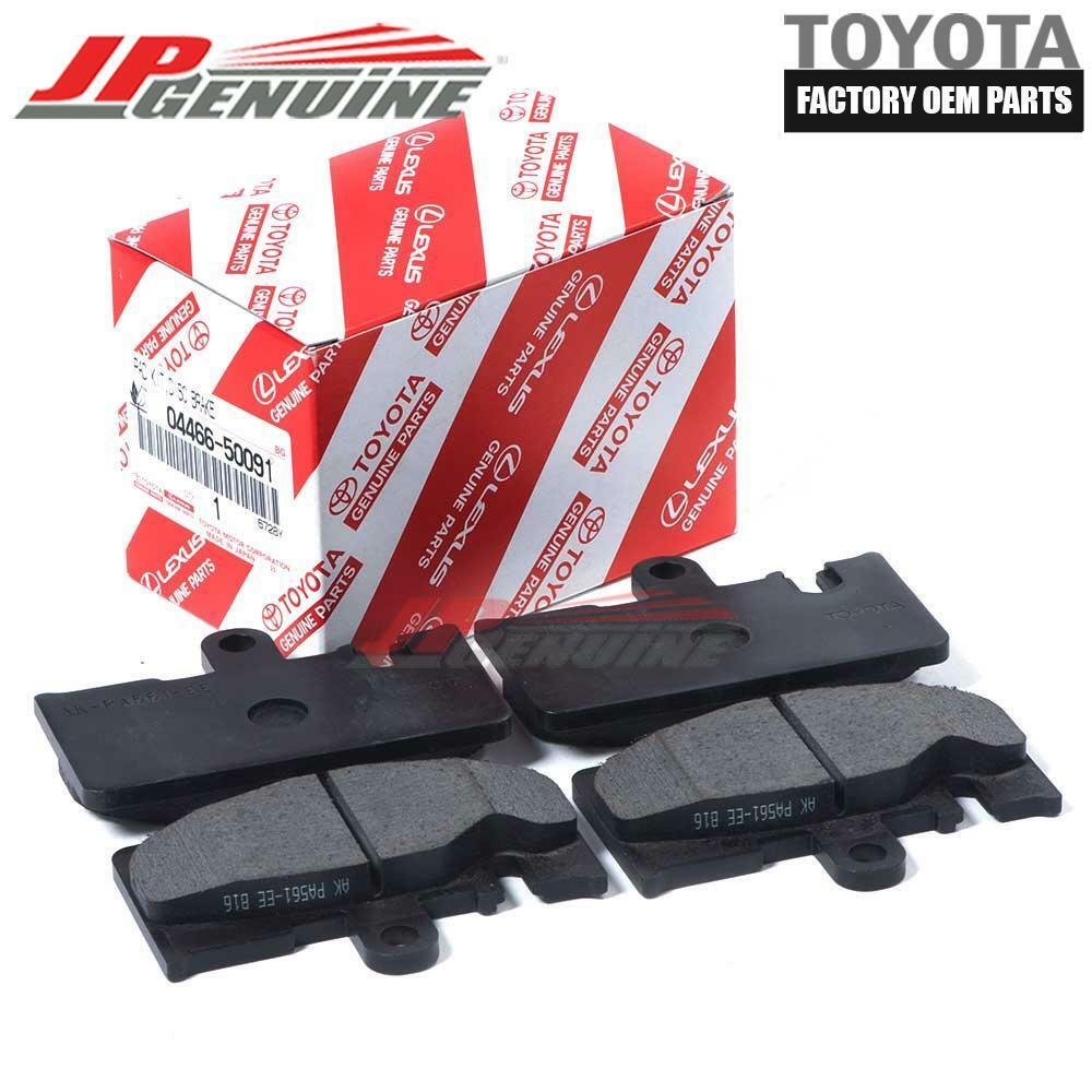 0446650091 LEXUS FACTORY OEM 01-06 LS430 REAR DISC BRAKE PADS SET 04466-50091