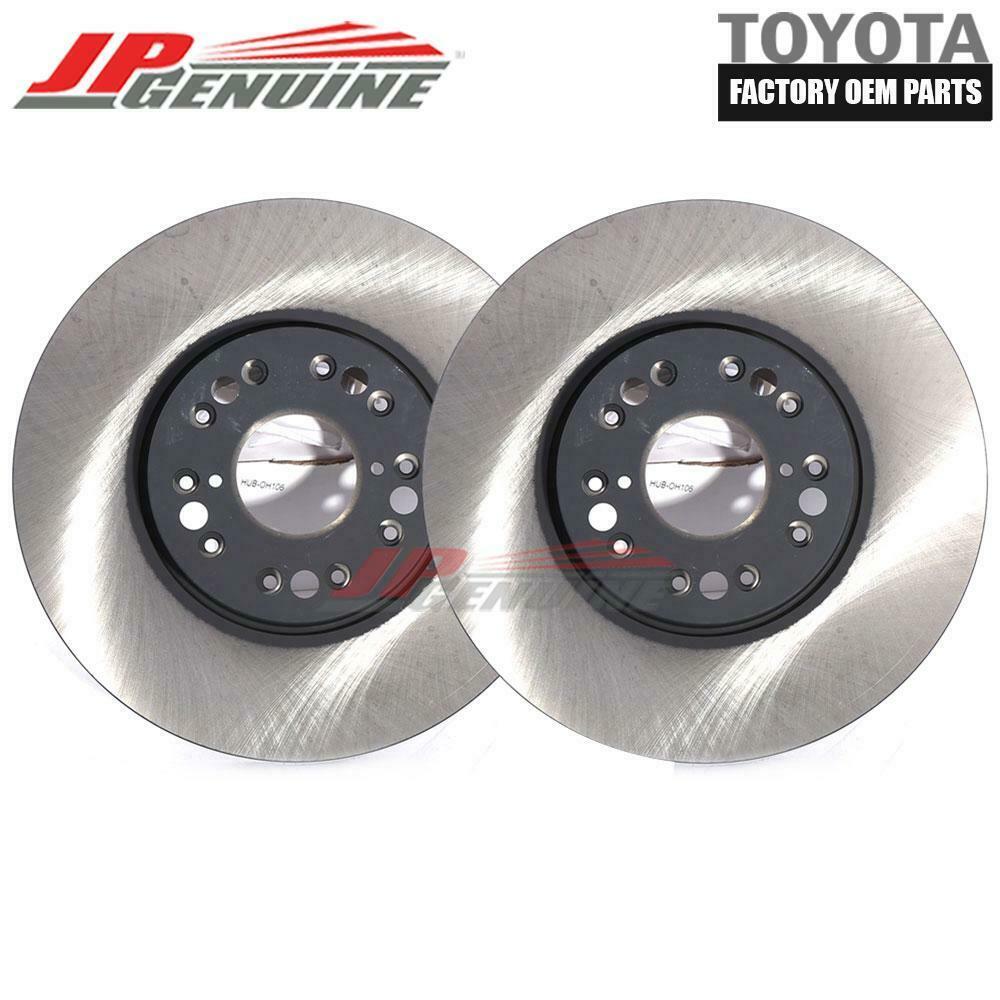 2X Front Brake Rotors For Lexus GS300 GS400 GS430 IS300 LS400 SC300 SC400 SC430